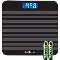 Báscula de Baño Digital, Báscula Inteligente de Alta Medición Precisa 180kg/ 400lbs/ 28st,…