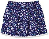 A for Awesome Girls Casual Short Skirt Medium Ellis Blue Floral AOP …