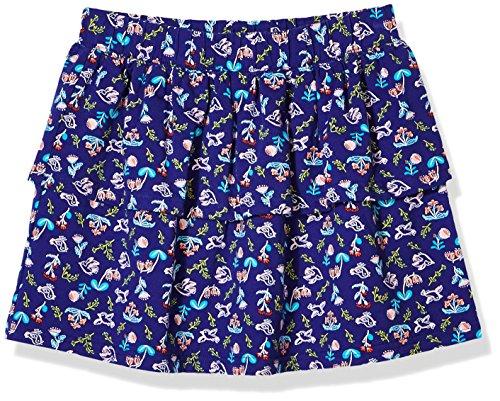 Girl Blue Floral Skirt (A for Awesome Girls Casual Short Skirt Medium Ellis Blue Floral AOP …)