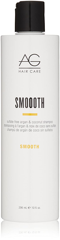 AG Hair Smoooth Sulfate-Free Argan & Coconut Shampoo, 10 Fl Oz