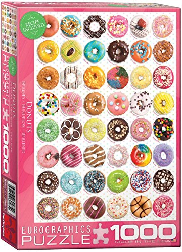 1000 piece puzzles donuts - 2