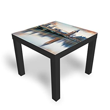 nouveau produit 4d40f e4415 DekoGlas IKEA Table Basse en Verre avec Plateau en Verre ...