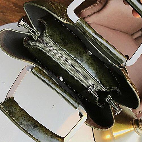 main sacs Sacs sauvage pour Sac vert bandoulière noir Sacs à Retro manutention à de filles Bandoulière top 87w4Iqpx
