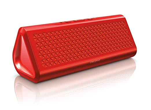 3 opinioni per Creative Labs Airwave HD Red- portable speakers (Built-in, Wired & Wireless,