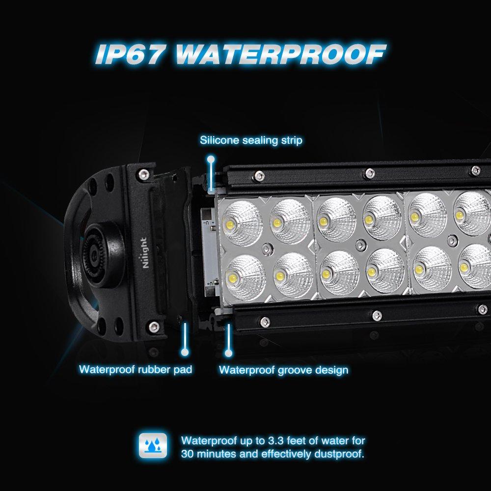Amazon.com: Nilight LED Light Bar 42Inch 240W LED Work Light Spot Flood  Combo LED Lights Led Bar Driving Fog Lights Jeep Off-Road Lights: Automotive