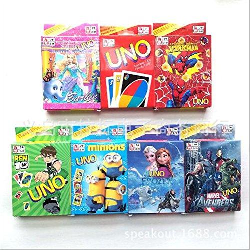 MLM Premium Quality Original UNO Card Game - Kids Toy Game Original UNO Card Game Wild Jackpot Game(pack of 3)