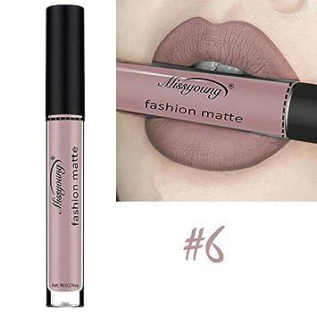 3b08a7e7ddc4 Gocheaper Matte Velvet Matte Lip Gloss Lip Glaze,Liquid Lipstick  Moisturizer Lipstick Cosmetic Beauty...