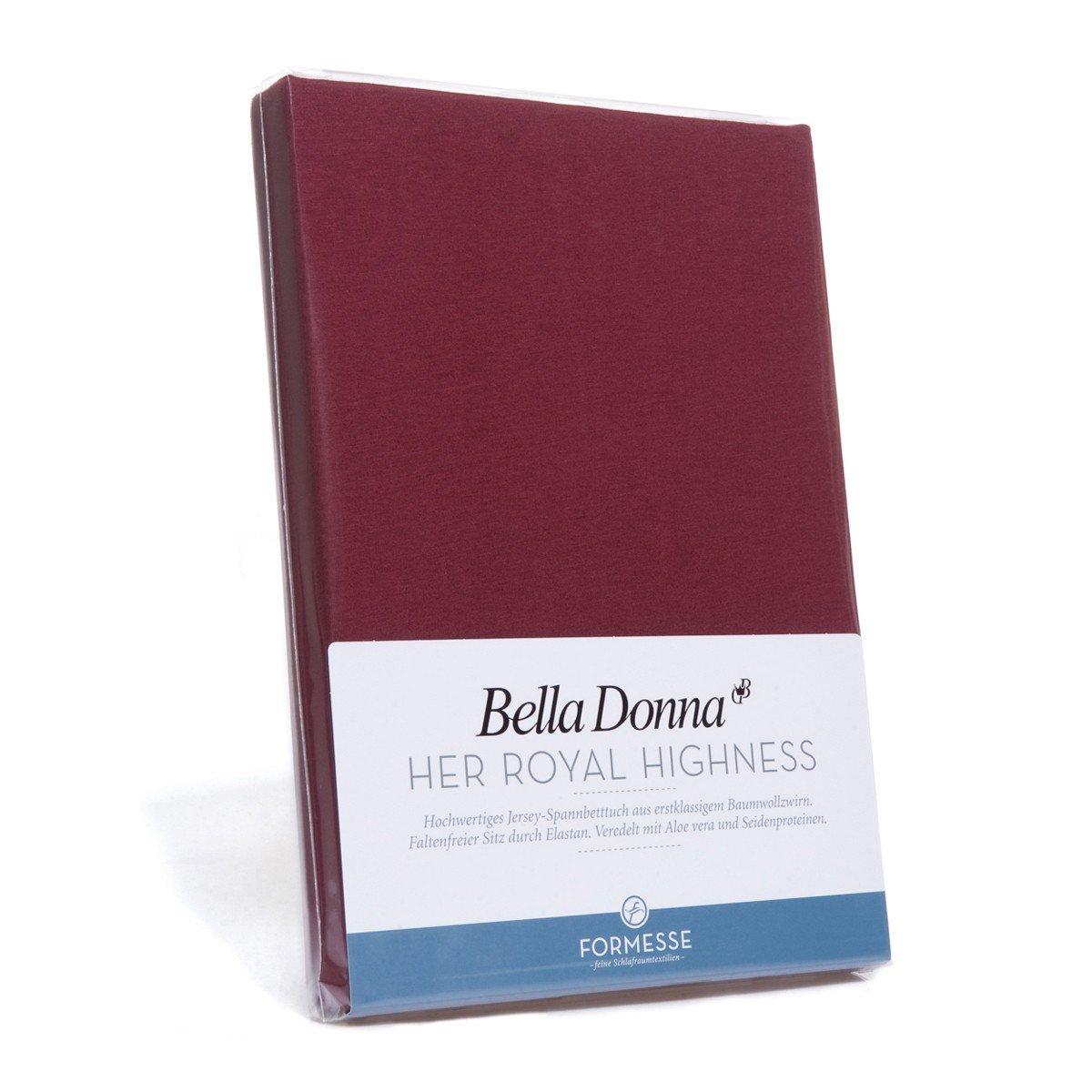 Bella Damenschuhe Jersey Spannbettlaken 140 200 - 160 220cm - 0215 (Hellanthrazit)