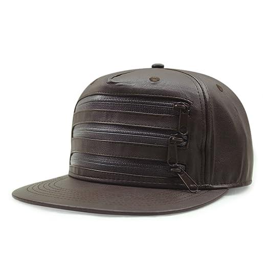 YANGFEIFEI-MZ® - Gorra de béisbol de Piel para Mujer, diseño de ...