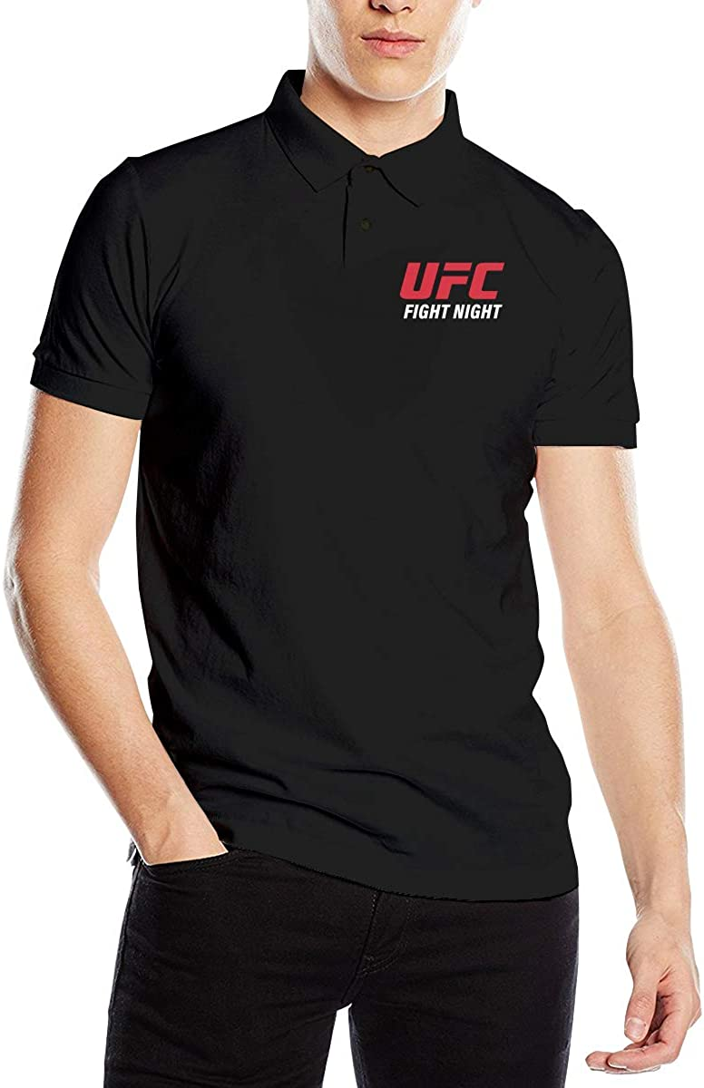 Ufc Fight Night Logo Classic Golf Polo Shirts For Men At Amazon Men S Clothing Store Everything from ufc to bellator, from glory kickboxing to pay per view boxing fights, passing to wwe raw, wwe smackdown don't miss a fight, we will provide you with the highest quality streams available online. amazon com