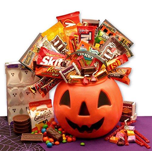 Monster's Ball Halloween Pumpkin of Candy