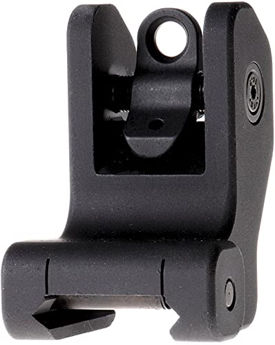Troy Industries Fixed Battle Sight Rear Black