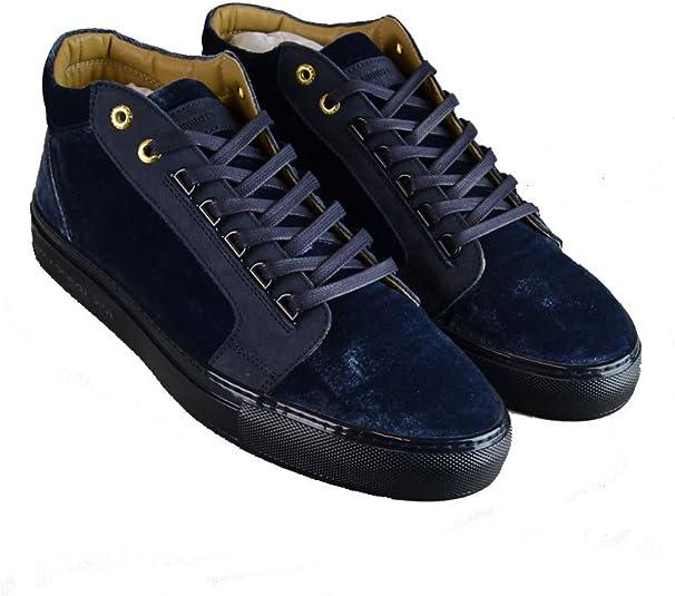 Propulsion' Mid Top Sneakers Navy