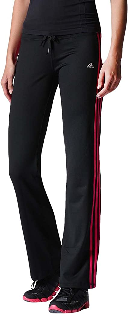 adidas Performance Femme Pantalon Coupe Slim – Noir, Noir ...