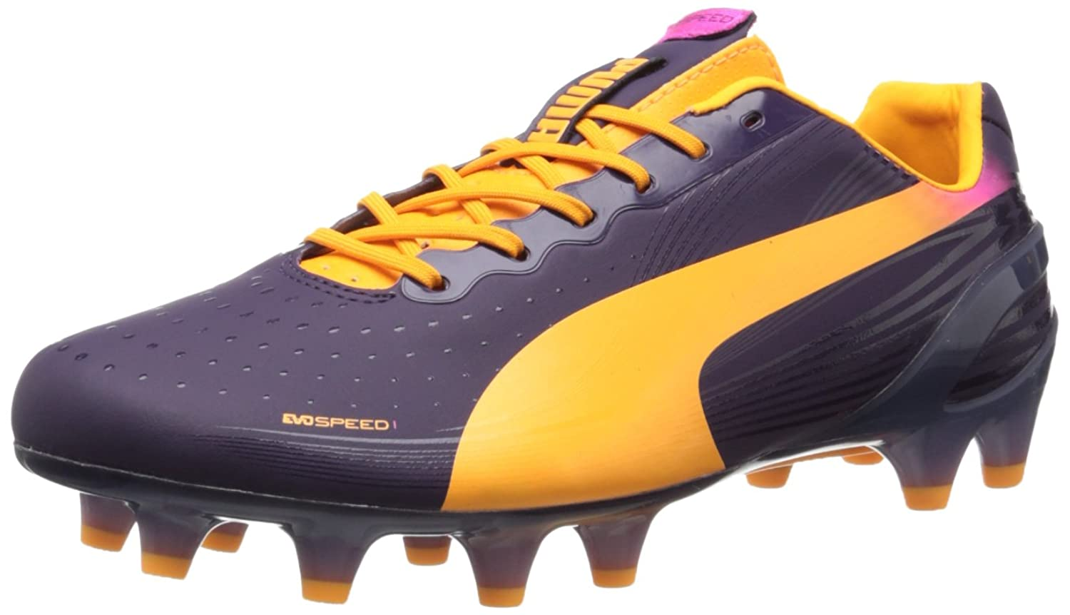 Mens PUMA Men's evo SPEED 1 2 Tricks FG Soccer Cleat Factory Price Size 44