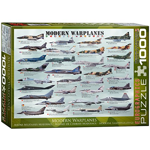 EuroGraphics Modern Warplanes Puzzle (1000-Piece)