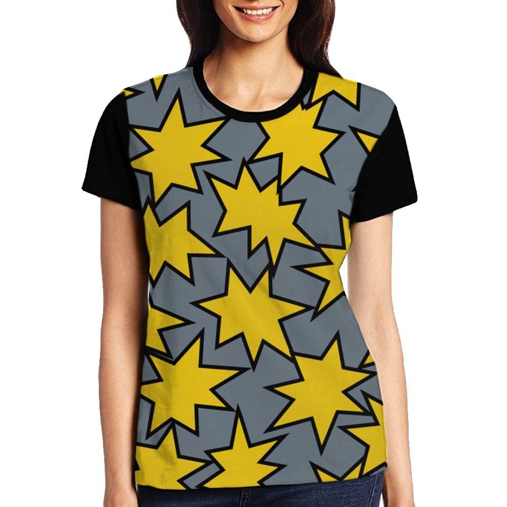CKS DA WUQ Lightning Sparks Women's Raglan T-Shirt Compression Sport Baseball Tees Tops Undershirts
