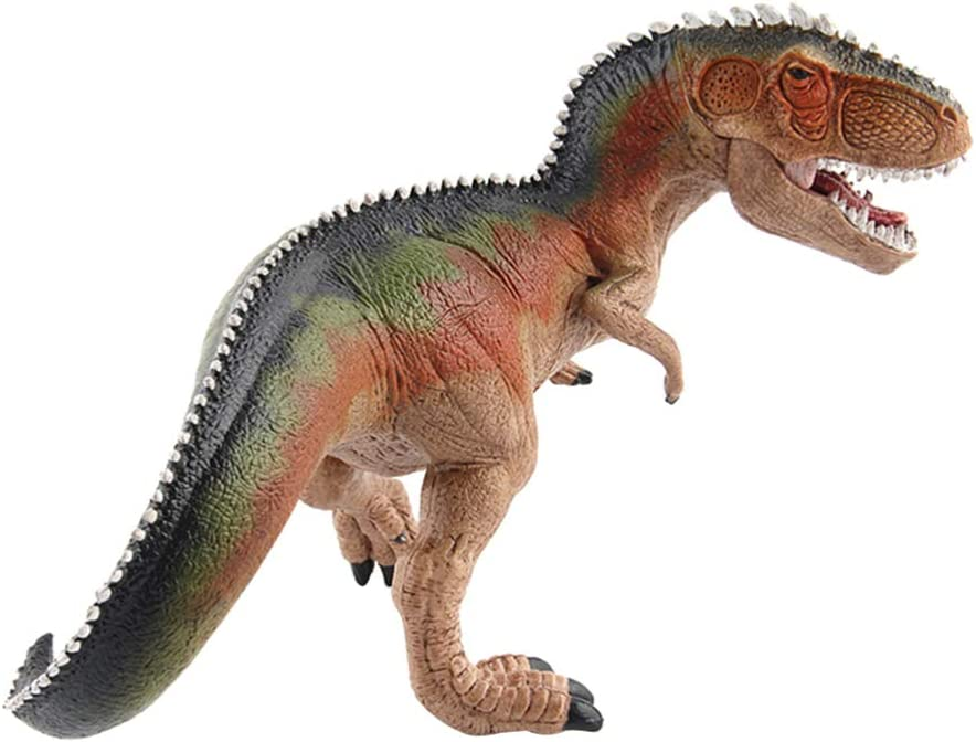 Orange TOYANDONA Figurines de Dinosaures R/éalistes Megalosaurus Jurassic Period Dinosaurs Models Toys Jouets /Éducatifs Set Jumbo Plastic Model