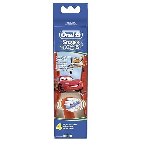 Oral B 68341 - Cabezales para cepillo de dientes eléctrico de rotación, color multicolor