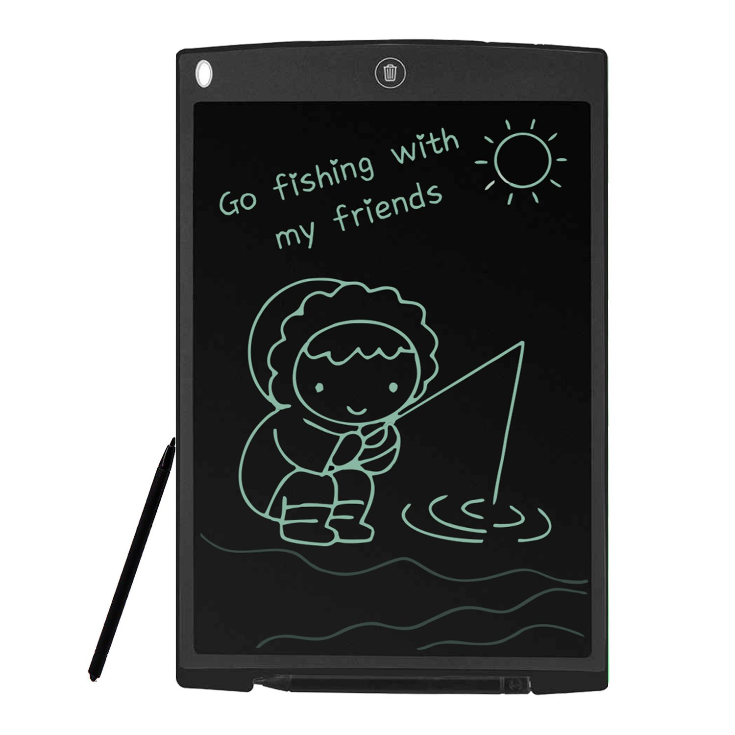 12-Inch Lcd Writing Board For Brighter Writing And Locking To Prevent Accidental Deletion Of Office Home Doodle Drawing Gifts For Children And Adults