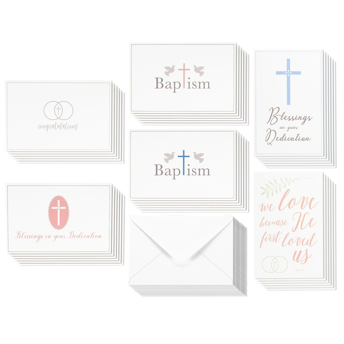 Amazon 36 Pack Christian Religious Greeting Cards Bulk Box Set