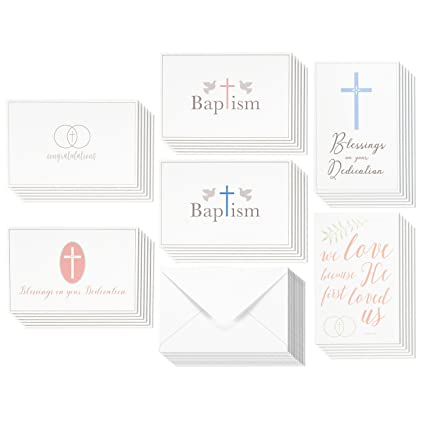 Amazon 36 pack christian religious greeting cards bulk box set 36 pack christian religious greeting cards bulk box set for blessings on your dedication wedding m4hsunfo