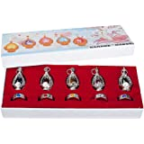 Cosfun Puella Magi Madoka Magica Soul Gem 10pcs Ring Crystal Ball Cosplay Mp001064