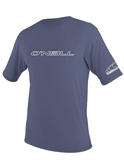 da348422 Amazon.com: O'Neill Men's Basic Skins UPF 50+ Short Sleeve Sun Shirt ...