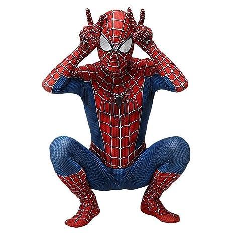 Traje De Spiderman Niño Adulto Regreso A Halloween Juego De ...