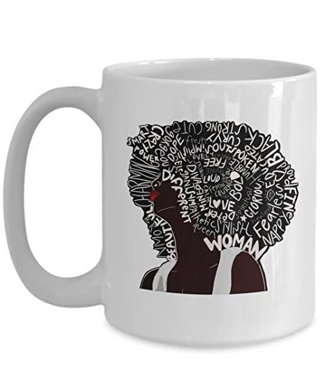 Amazon Com African American Woman Pride Natural Hair Afro Word Art
