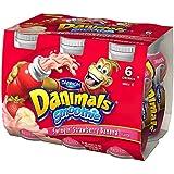Dannon, Danimals Smoothie Swingin' Strawberry Banana Yogurt Drinks, 3.1 oz, 6 pack