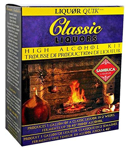 Liquor Quik Classic Liquors One Gallon High Alcohol Kit (Sambuca Liqueur)