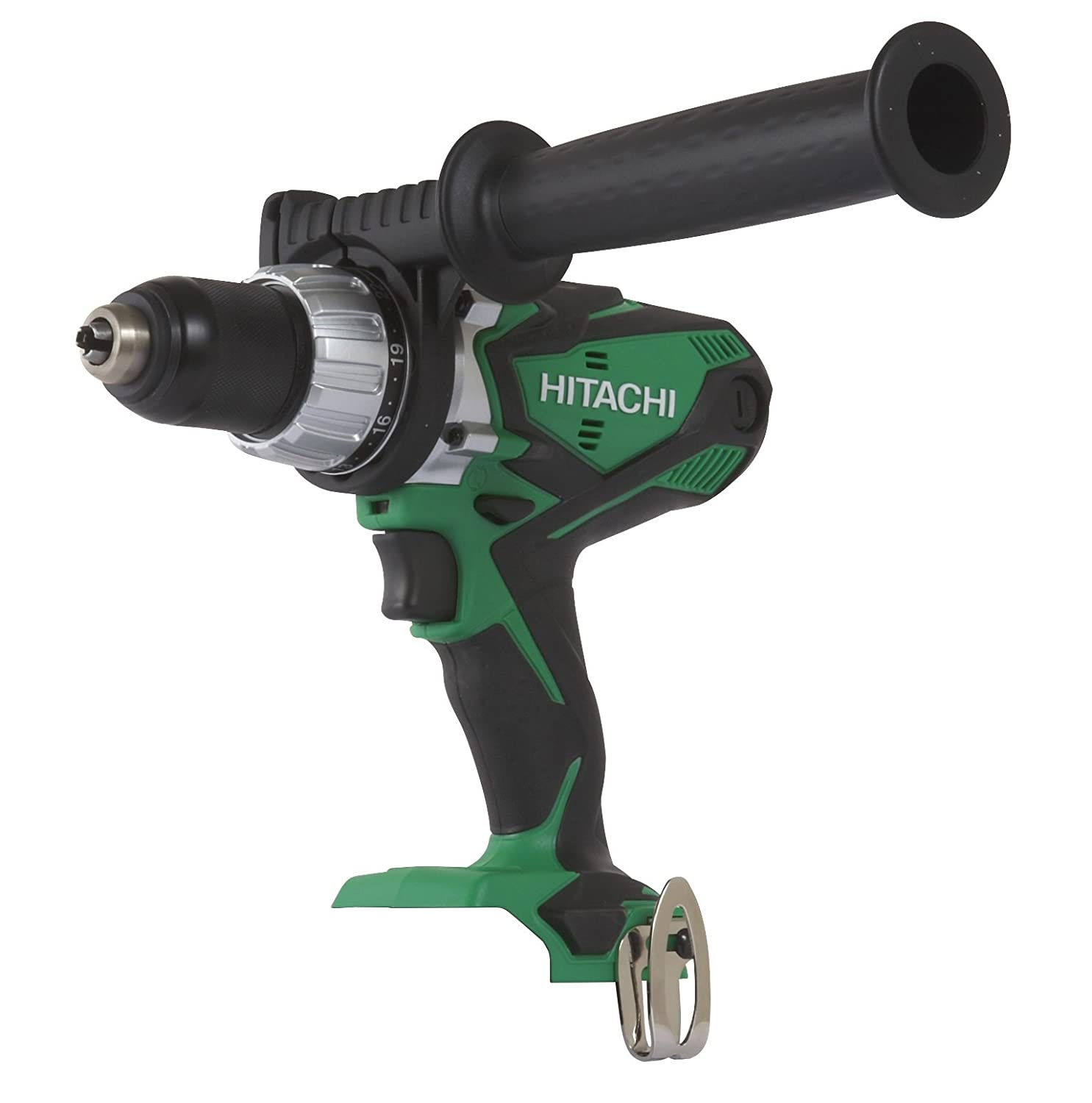 Hitachi DV18DSDLP4 18-Volt Cordless Lithium-Ion Hammer Drill Tool Only, No Battery