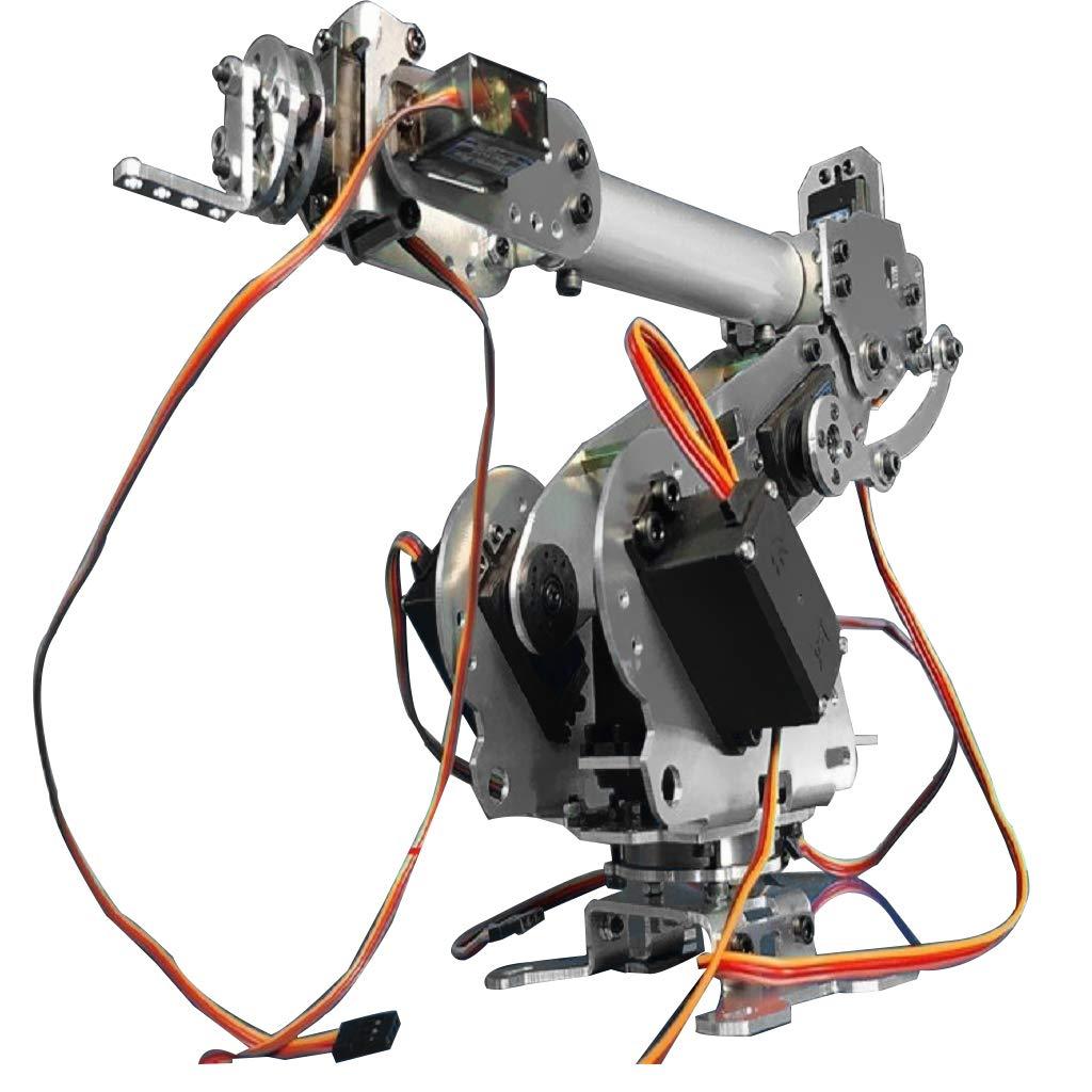 B 6自由度 Blesiya 機械式ロボットアーム 機械爪 6軸ロボットアームキット DIYメカニカルアームキット 6自由度 B 機械爪 B07NHJFT59, 無添加ガーゼケット寝具工房松並木:f882f0ab --- 2017.goldenesbrett.net