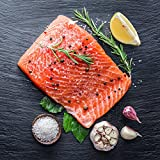 #4: Tasty Catch Fresh Skin On Wild Coho Salmon Fillet, 1.5 lbs