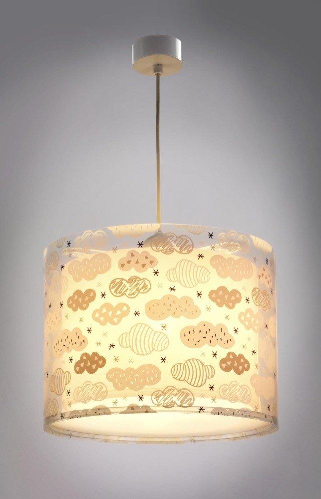 LED Kinderlampe Wolken 41412S Dimmbar warmwei/ß 1000lm M/ädchen /& Jungen Kinderzimmerlampe Deckenlampe