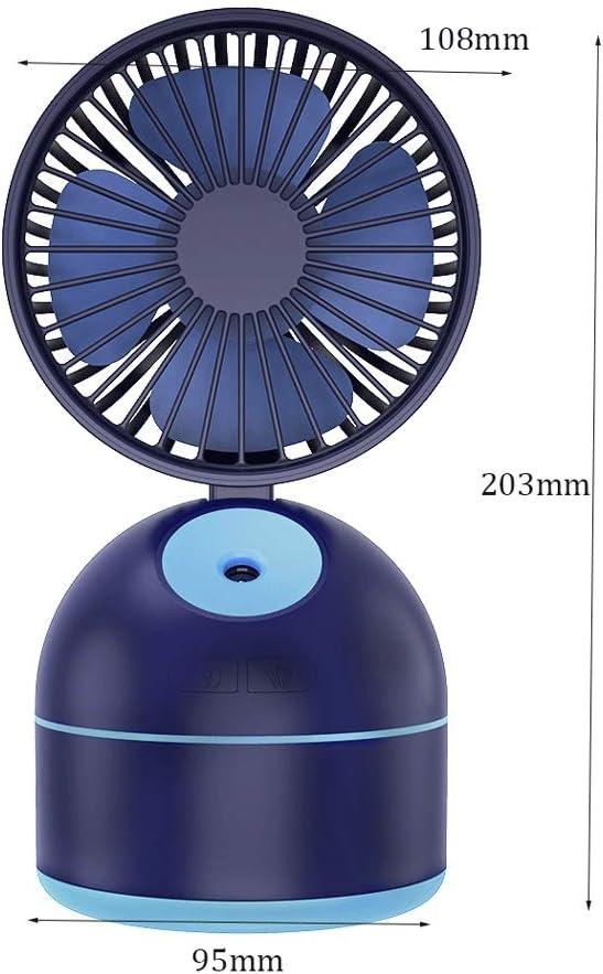 DJ Home Spray Cooling Fan Portátil Mini Handheld Recargable 3 ...