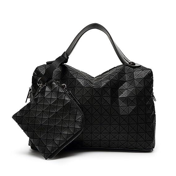 d93b9acf3d Lady Silicone Rhombus Pillow Bag Stitching Japanese Style Handbags Cube  Folding Shoulder Diagonal Package Handbag Casual Square