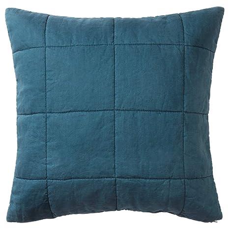 IKEA ASIA - Funda de cojín, Color Azul Oscuro: Amazon.es: Hogar