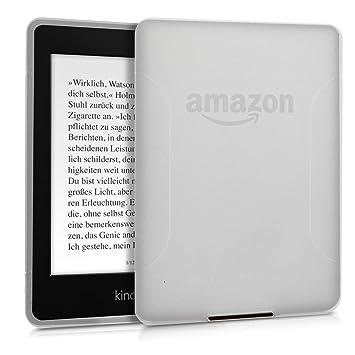 kwmobile Funda para Amazon Kindle Paperwhite - Carcasa Protectora de [TPU] para e-Book - Protector [Trasero] de e-Reader en (para Modelos hasta el ...