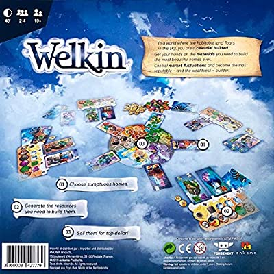 Ankama Board Games Welkin Construct Magical Buildings: Toys & Games