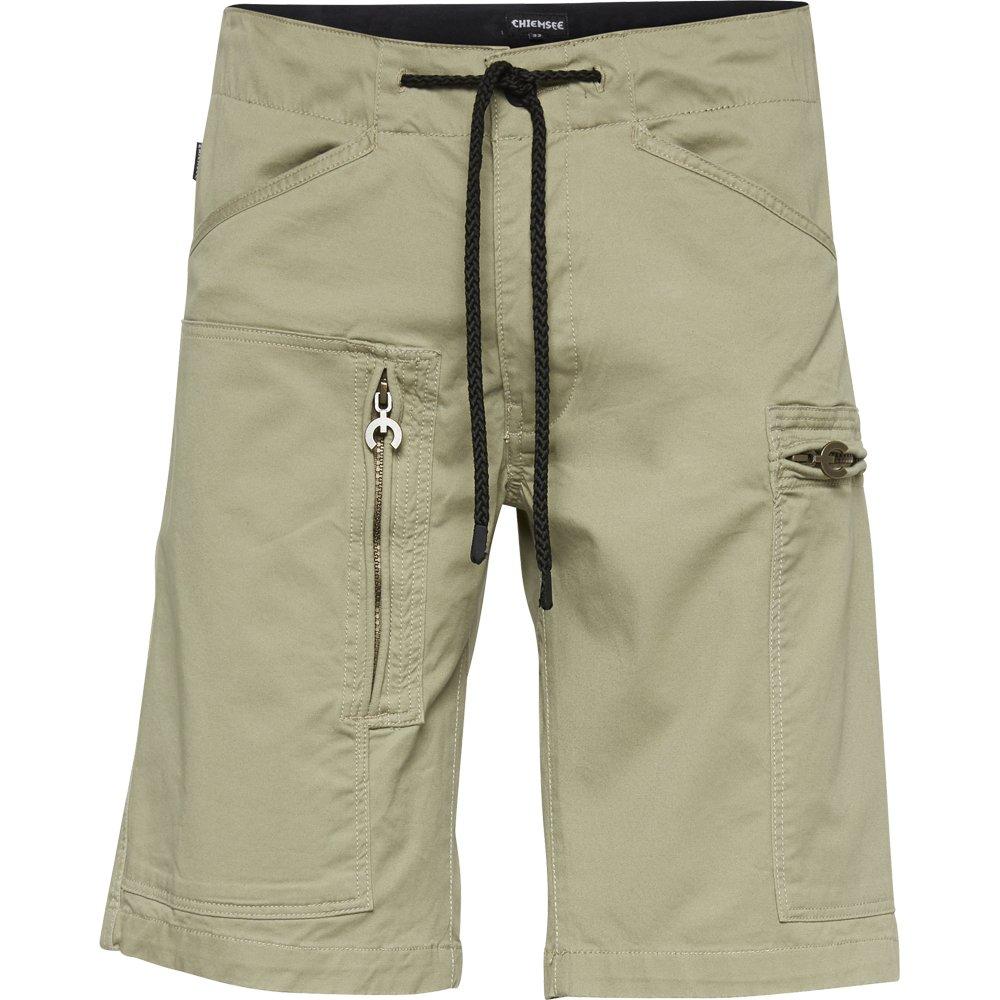 TALLA 29. Chiemsee Hombre Cargo Pantalones Cortos Prendas Bermuda, con Muchos Bolsillos de//