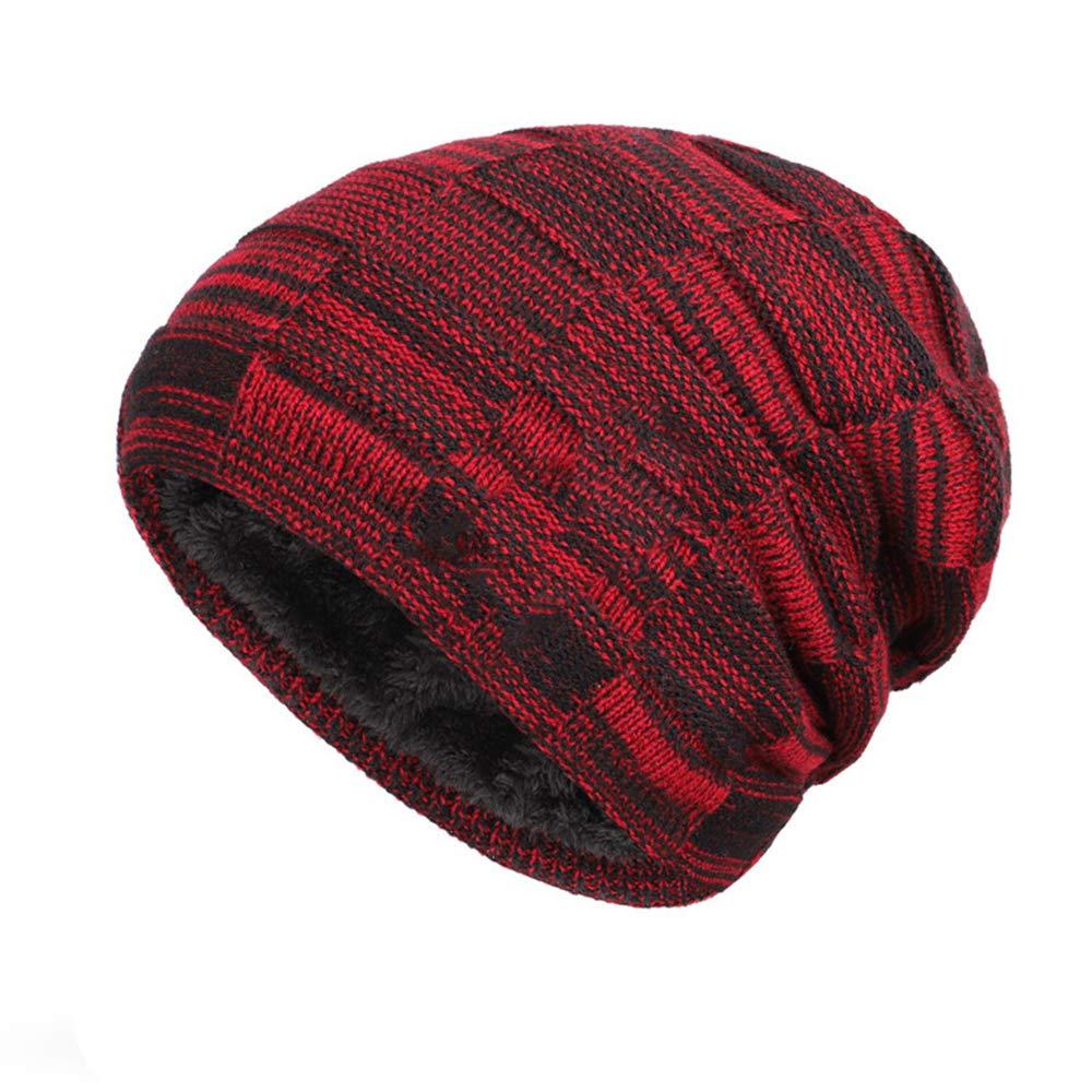 MJ-Young Fashion Winter Hat Women Men Soft Skull Cap Beanies Warm Hat Women Man Knitted Cap Hats Beanies
