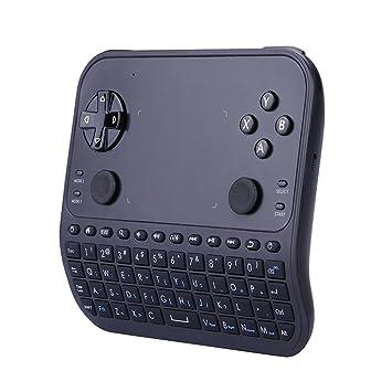 ronxs Touchpad Mini teclado ratón Combo de mando a distancia inalámbrico de 2,4 GHz