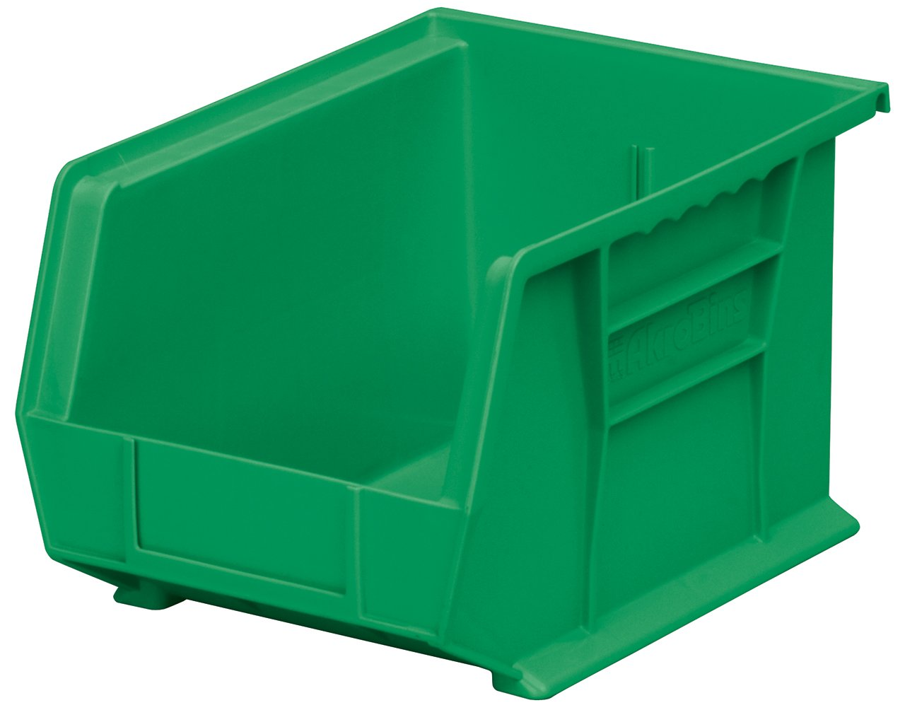 Akro-Mils 30239 Plastic Storage Stacking Hanging Akro Bin, 11-Inch by 8-Inch by 7-Inch, Green, Case of 6