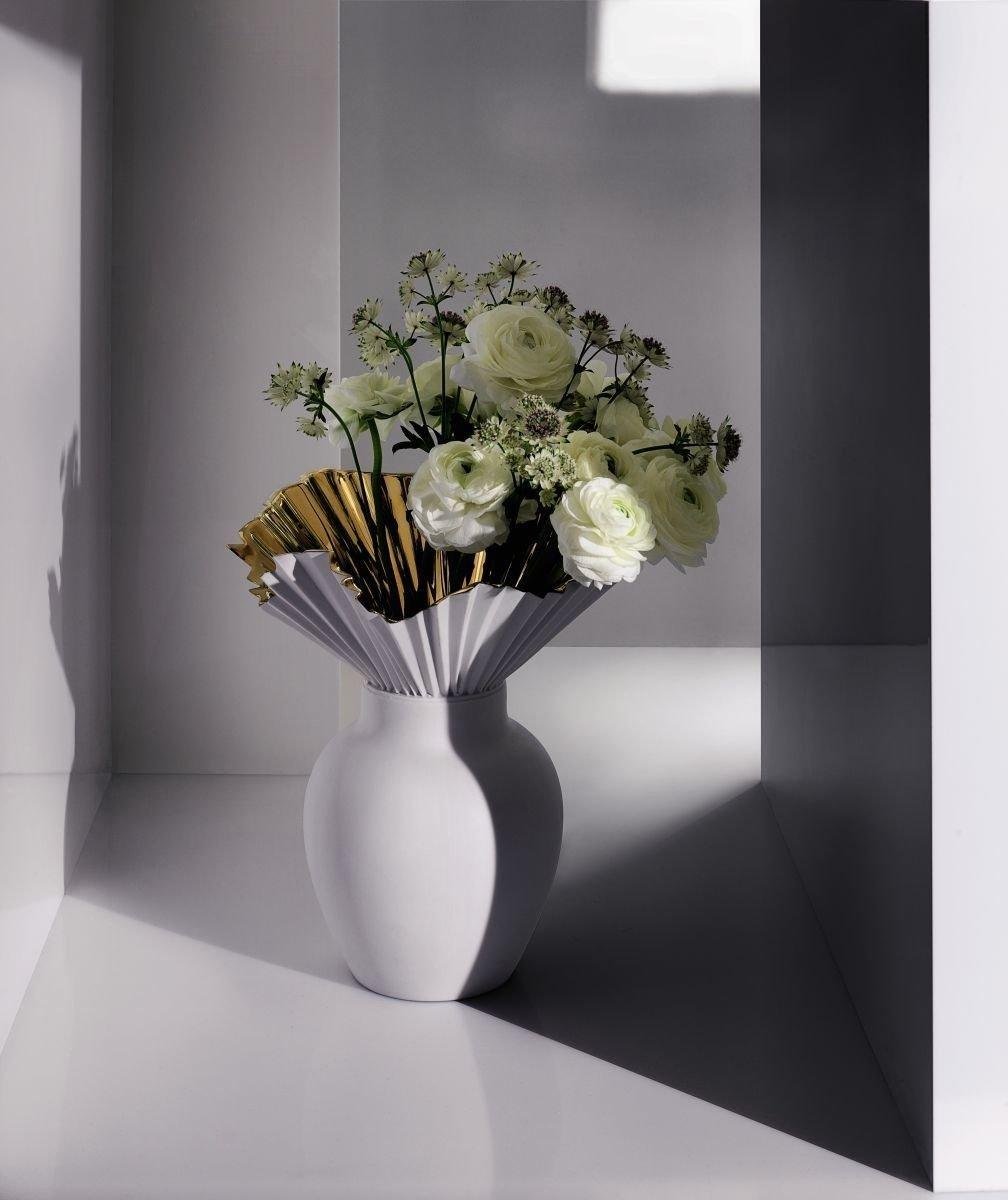 Rosenthal Falda Gold titanisiert Vase 27 cm 14438-426157-26027