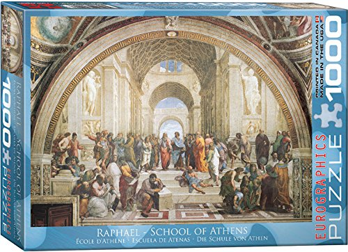 EuroGraphics School of Athens by Raphael 1000 Piece Puzzle