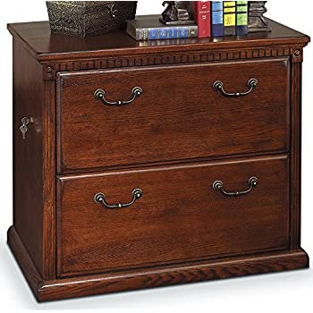 Amazon.com: Solid Wood Lateral File Cabinet 2 Drawers with ...