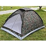 Docooler® Camping Tent for 2 Person Single Layer Waterproof Outdoor Portable Camouflage