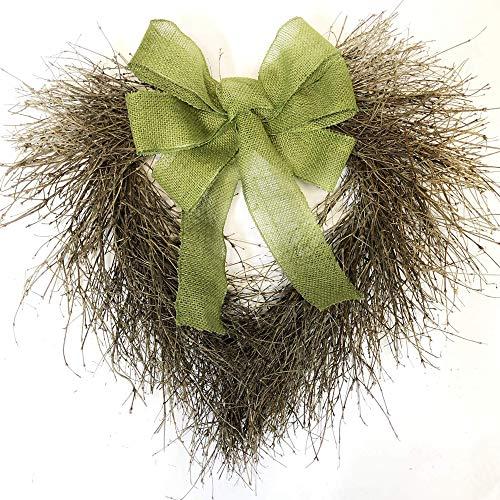 (VanCortlandt Farms Handmade Rustic Twig Heart Wreath)